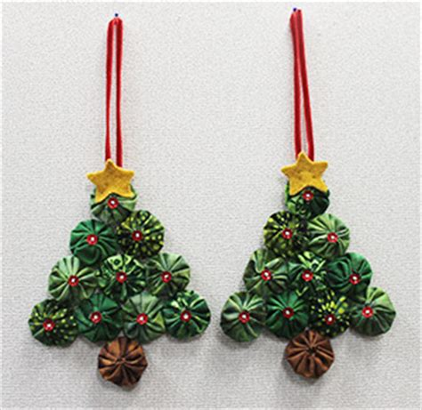 yo yo christmas ornaments quilt with us