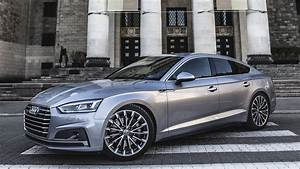 The Beautiful Lines Of The New 2017  18 Audi A5 Sportback 2