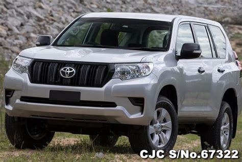 toyota land cruiser prado silver  sale stock