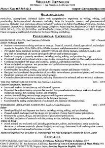 fine resume sample technical writer gallery resume ideas With technology resume writer