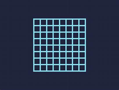 Grid Square Dribbble Clayton Shonkwiler Because There
