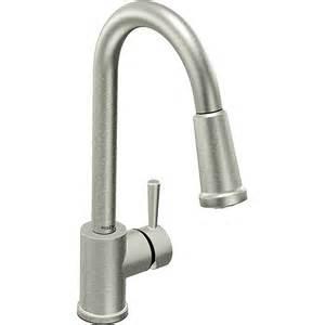 moen 7175csl level one handle high arc pulldown kitchen