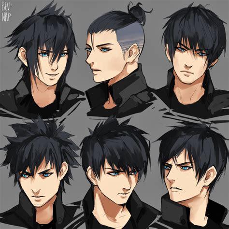 noct hairstyles  bev nap  deviantart character