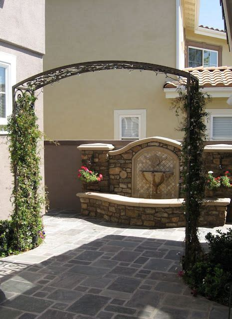 wall fountain fountains outdoor water fountains outdoor patio plans