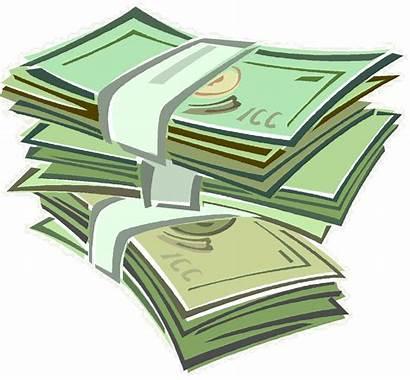 Money Clip Cash Clipart Stack Dollar Making