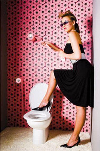 papier peint pour toilettes papier peint trompe l oeil plus vrai que nature koziel