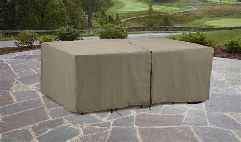 garden oasis rectangle patio furniture set cover outdoor
