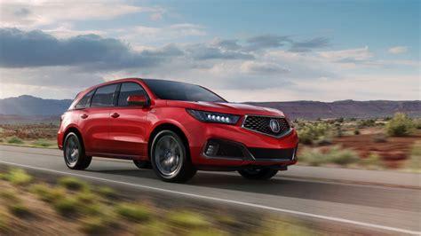 2019 Acura Mdx Three-row Crossover Gets Sharper Handling
