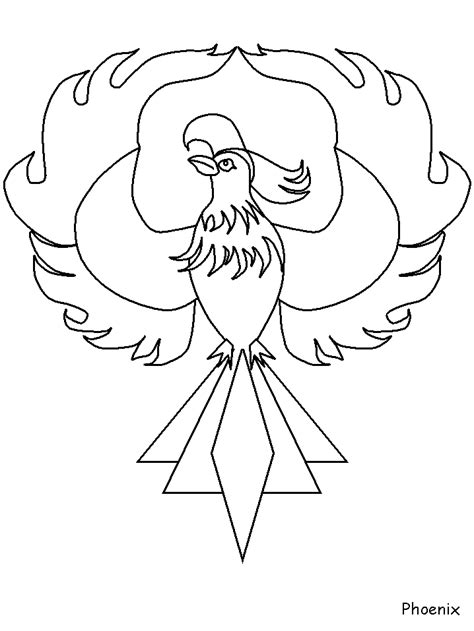 phoenix greek coloring pages coloring book