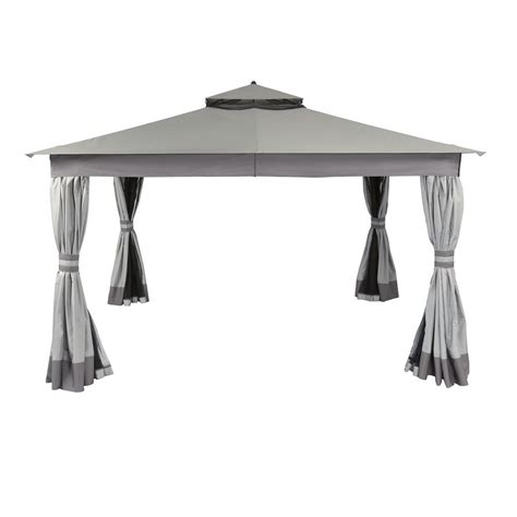 allen and roth gazebo allen roth 12 ft x 10 ft easy up gazebo lowe s canada