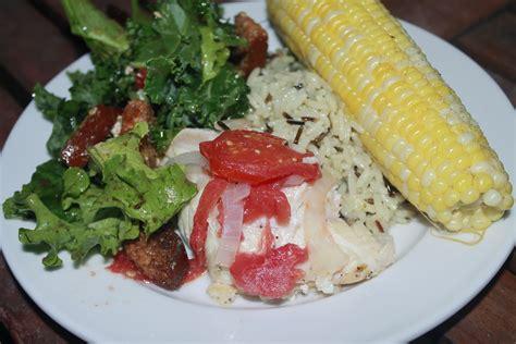 grouper grill side sweetcorn iowa theginghamapron