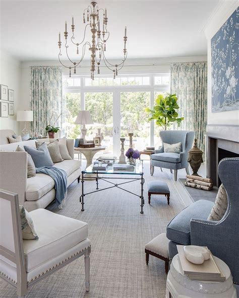 Kate Singer's Living Room at the Hamptons Showhouse   How