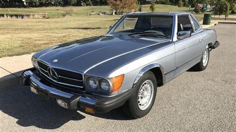 This 1984 mercedes benz 380sl convertible has a 233 c.i. 1984 Mercedes-Benz 380SL Convertible | T50.1 | Chicago 2017