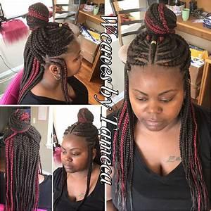 Ghana Braids Feed In Braids Queen Braid Red Hair Box