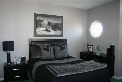 grey black bedroom grey black bedroom contemporary bedroom ottawa by personal touch interiors