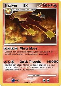 Pokémon Blaziken EX 24 24 - Mirror Move - My Pokemon Card