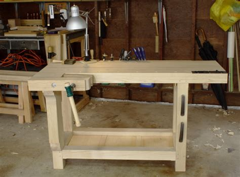 scandinavian workbench  wirelesswoodworker