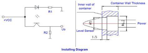 Miniature Liquid Optical Level Sensor Infrared Water Switch