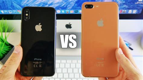 iphone 8 zubehör iphone x vs iphone 8 mockup