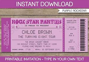 8 Best Images of Free Printable Ticket Invitation - Free ...