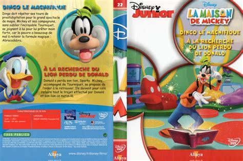 jaquette dvd de la maison de mickey dvd 22 cin 233 ma