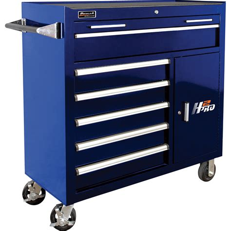 7 drawer rolling tool cabinet homak h2pro 41in 6 drawer roller tool cabinet with 2