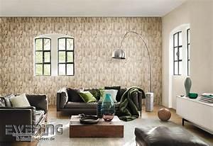 Moderne Tapeten Für Wohnzimmer : factory ii tapeten mit natur optiken im modernen industrial chic ewering blog ~ Sanjose-hotels-ca.com Haus und Dekorationen