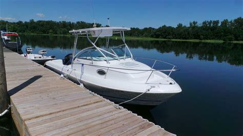 Proline Boats For Sale Ct by 2003 Pro Line 22 Walkaround Power New And Used Boats For