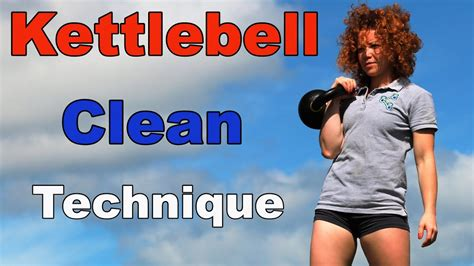 kettlebell clean technique double