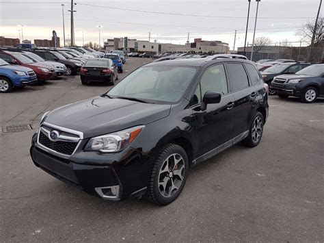pre owned  subaru forester xt touring cvt turbo
