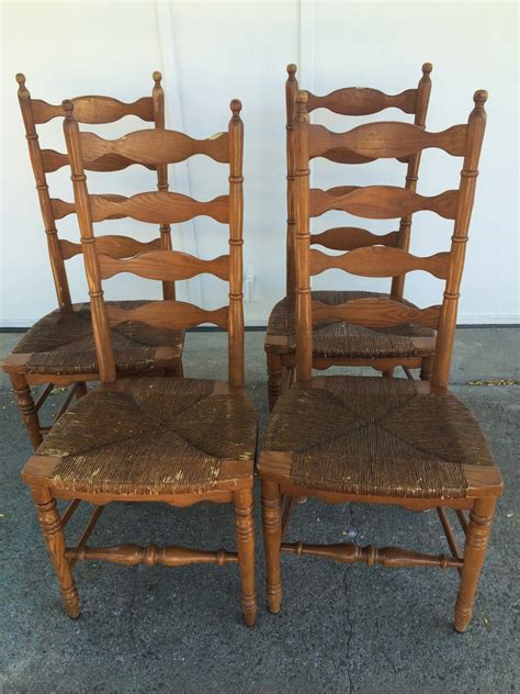 ladder back seat dining chairs antique ladder back chairs with seats secelectro 9668