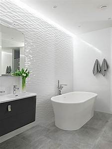 the 25 best grey bathroom tiles ideas on pinterest grey With carrelage adhesif salle de bain avec lit led gris