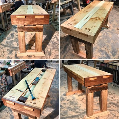 portable woodworking bench     father  law