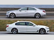 Luxusduell 7er BMW gegen Mercedes SKlasse autorevueat