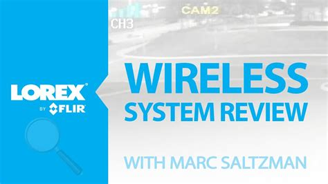 wireless security with real time wireless lorex lw2230 series