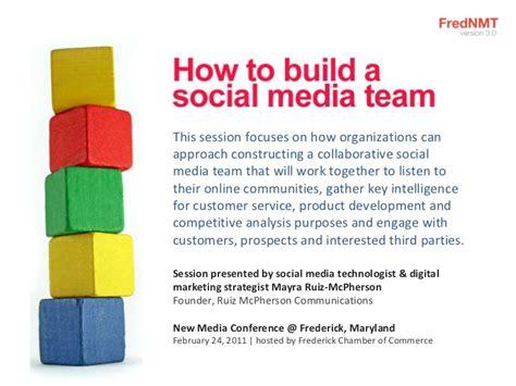 How To Build A Social Media Team