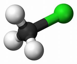 File Chloromethane-3d-balls Png