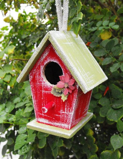 christmas bird house ornament warm  house gifts