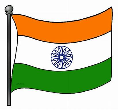 Flag Indian Clipart India Ancient Clipground Modern