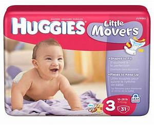 Amazon.com: Huggies Little Movers, Size 3, 128 Count ...