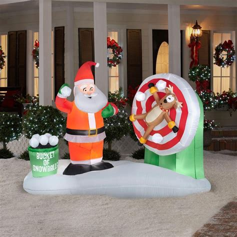 santa claus outdoor inflatables page  christmas wikii