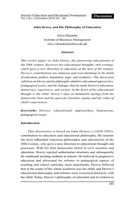 john dewey   philosophy  education