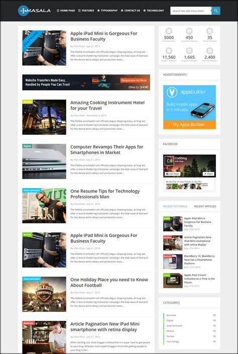 Some Best WordPress Themes For Tech Blog 2017