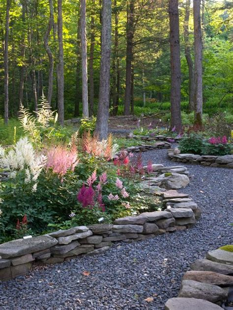 woodland border plants perfect pink and purple plant combinations gardens backyards and walkways