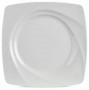 Assiette Plate Originale : classic assiette plate forme originale d cor ton sur ton contemporain assiette par alin a ~ Teatrodelosmanantiales.com Idées de Décoration