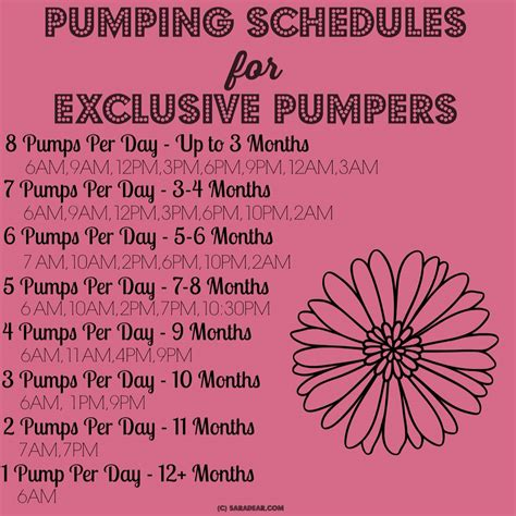 Breastfeeding Exclusively Pumping Schedule When I Am A