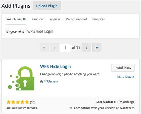 Cara Mengganti Url Wpadmin Dan Wplogin Di Wordpress