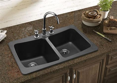 kitchen faucets for granite countertops what is best kitchen sink material homesfeed