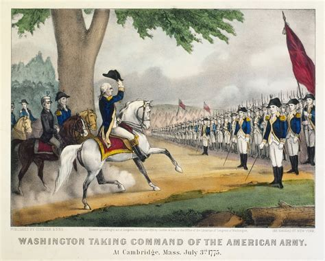 american revolution highlights washington takes command