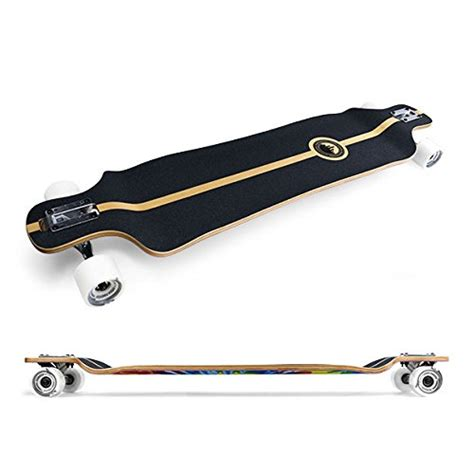 punked lowrider drop down through longboard complete